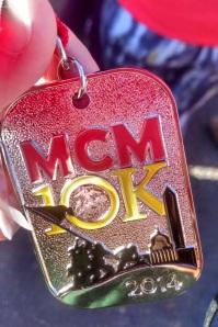 MCM 10K Medal